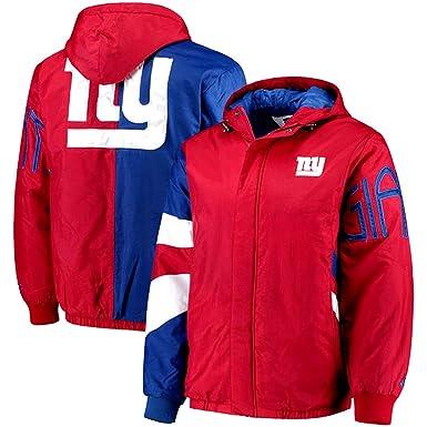 super popular baec9 01df2 Amazon.com: G III New York Giants NFL Starter Jacket Hooded ...