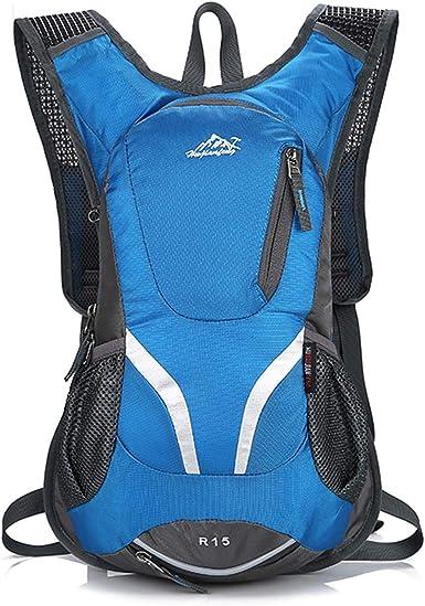 BWBIKE Mochila de ciclismo para bicicleta, transpirable, 15 L, pequeña mochila ligera para deportes al aire libre
