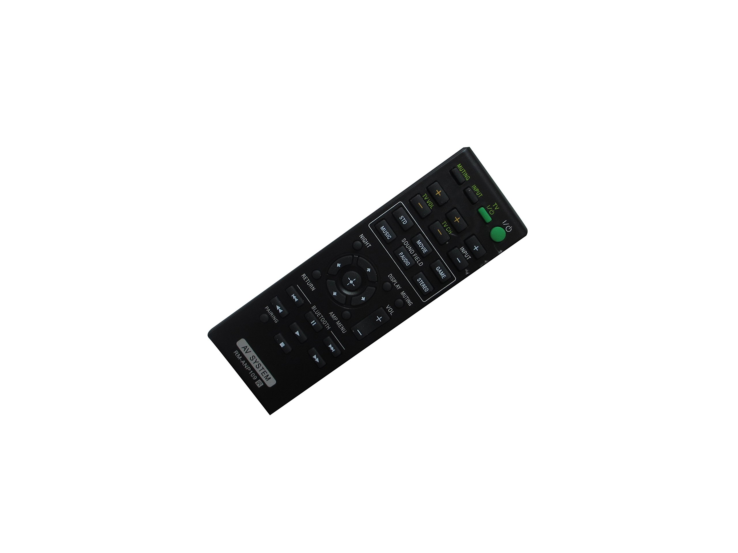 Replacement Remote Control fit for Sony RM-ANP109 RM-ANP105 149224811 2.1 Channel surround Sound Bar with Wireless Subwoofer Home Theater System by HCDZ