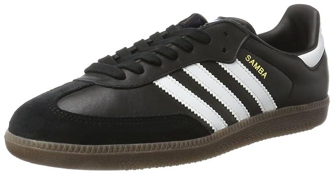 official photos 88cbf 2b289 adidas Samba OG, Chaussures de Gymnastique Homme, Noir (Core Black FTWR  White gum5), 36 2 3 EU  Amazon.fr  Chaussures et Sacs