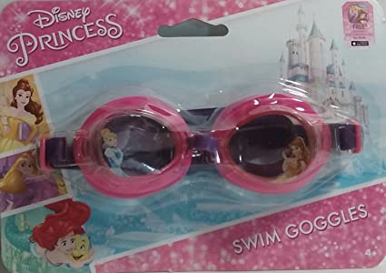 37c59a8e957 Image Unavailable. Image not available for. Color  What Kids Want Disney  Princess Swim Goggles ...