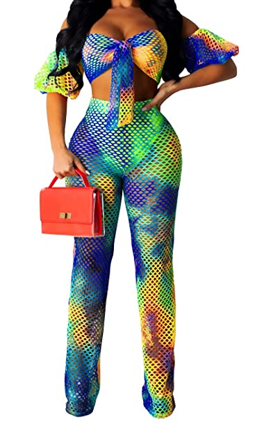 Amazon.com: Trajes sexys de dos piezas para mujer, elegantes ...