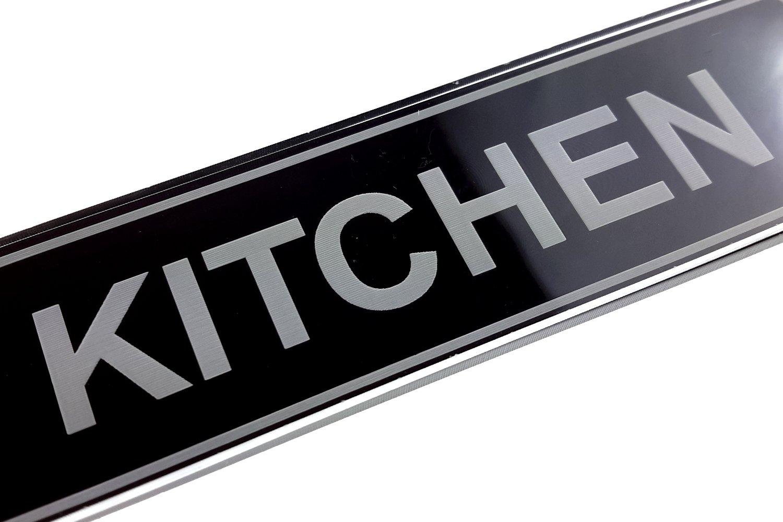 Se/ñal para puerta de cocina dise/ño de origen