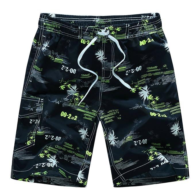 Stillshine Pantalones Casuales de Playa de Coco de Verano Pantalones Cortos de Baño de Tallas Extra para Hombres xlGMWqsko