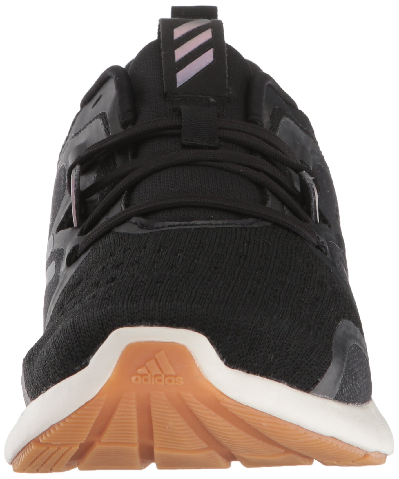 adidas Women's Edgebounce Running Shoe Black/Night Metallic, 5.5 M US by adidas (Image #4)