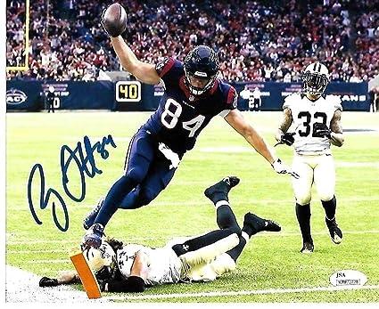 8ea2a42e9ee84 Ryan Griffin Houston Texans Autographed Signed 8x10 Photo WCoa JSA ...