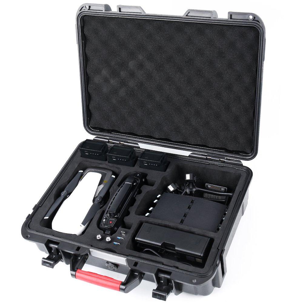 Smatree Mavic Air Carrying Case for DJI Mavic Air Fly More Combo,Waterproof Travel Hard Case for Mavic Air Drone