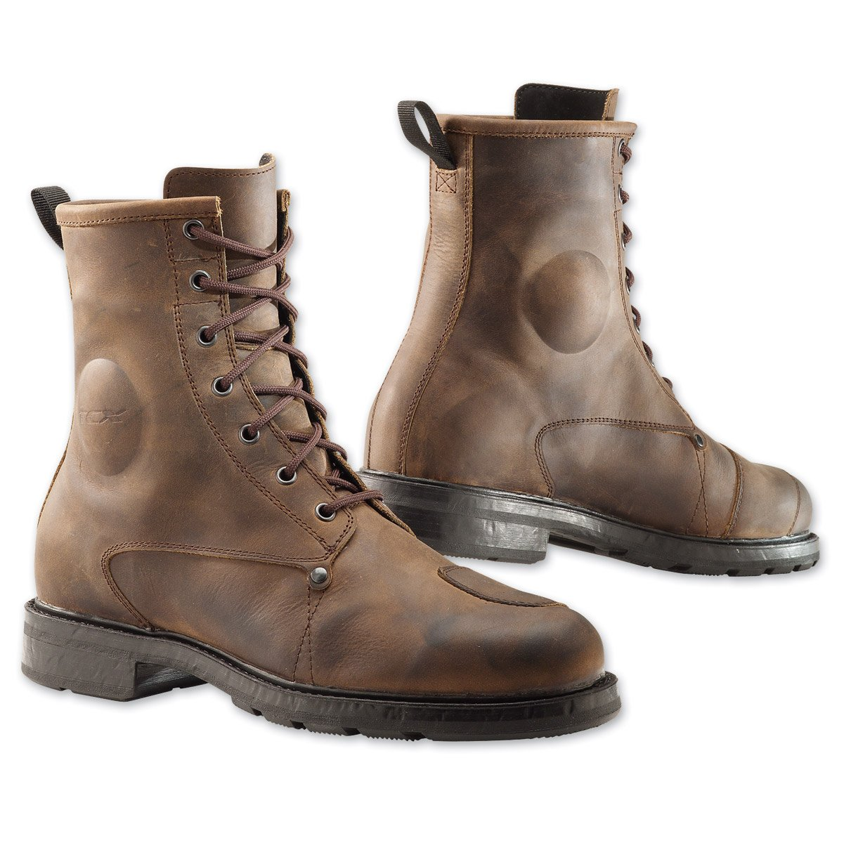 brown TCX X-Blend waterproof boots