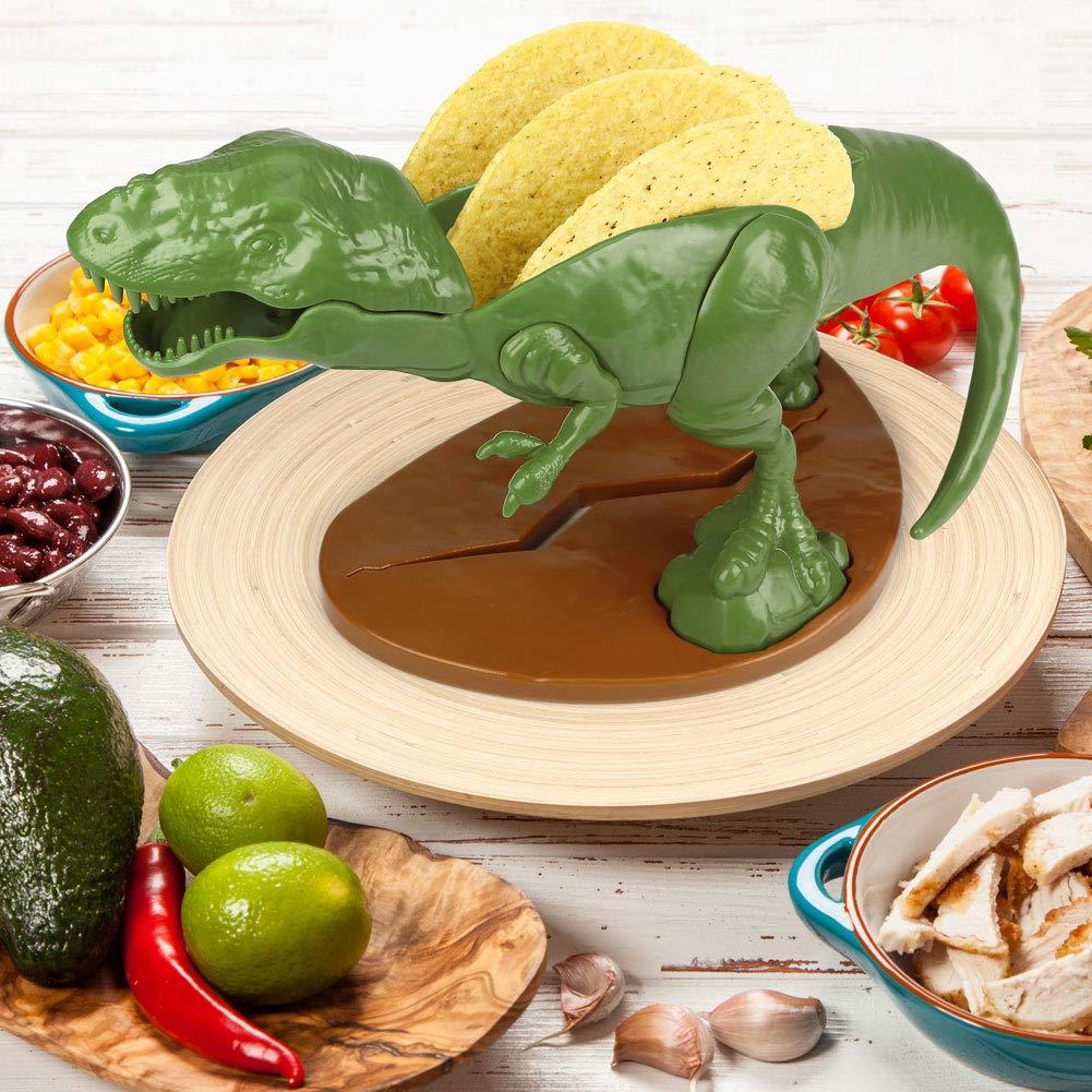 (Set) Tricerataco & Nachosaurus & Tacosaurus Rex - Making Appetites Extinct by Barbuzzo (Image #4)