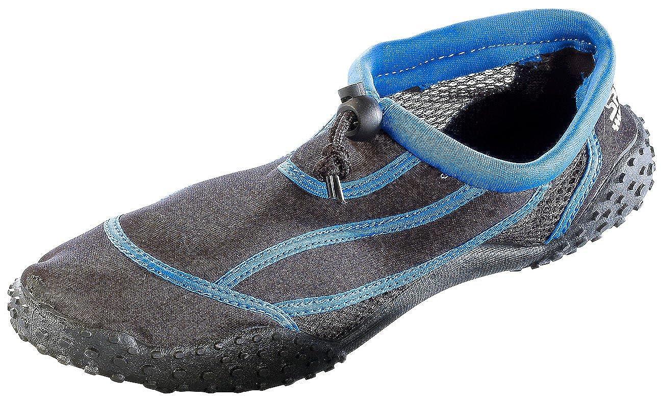 Speeron Aquaschuh: Strandschuh mit rutschfester Profilsohle, Gr. 39 (Neopren Strand- & Wasser-Schuhe)