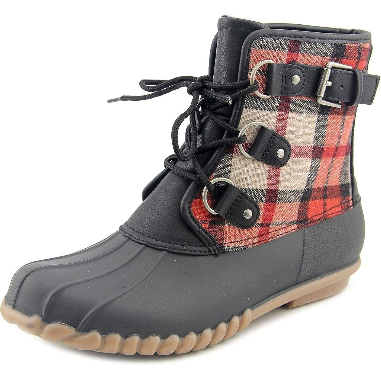 Baretraps Fahn Women Round Toe Synthetic Black Snow Boot