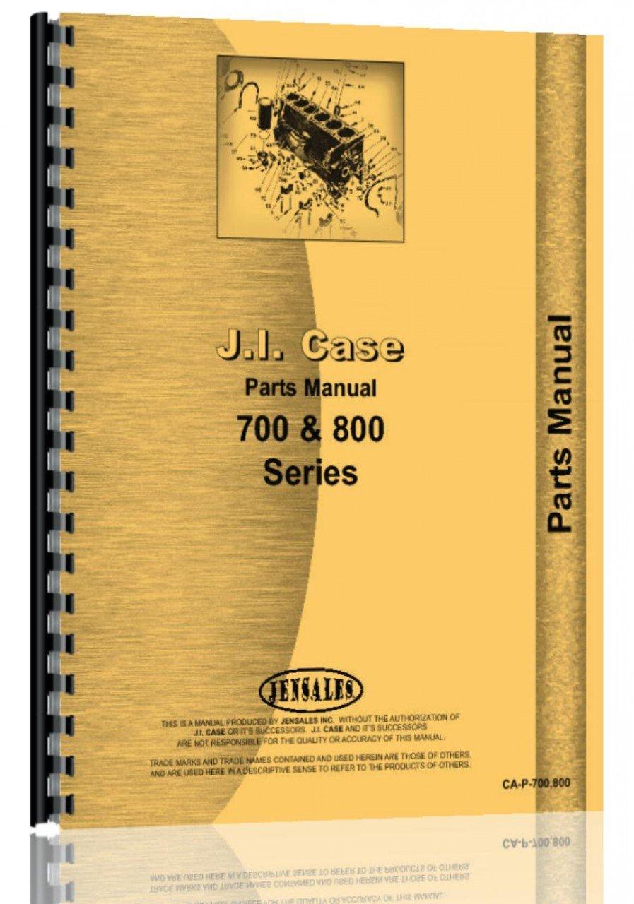 Case 702B Tractor Parts Manual pdf