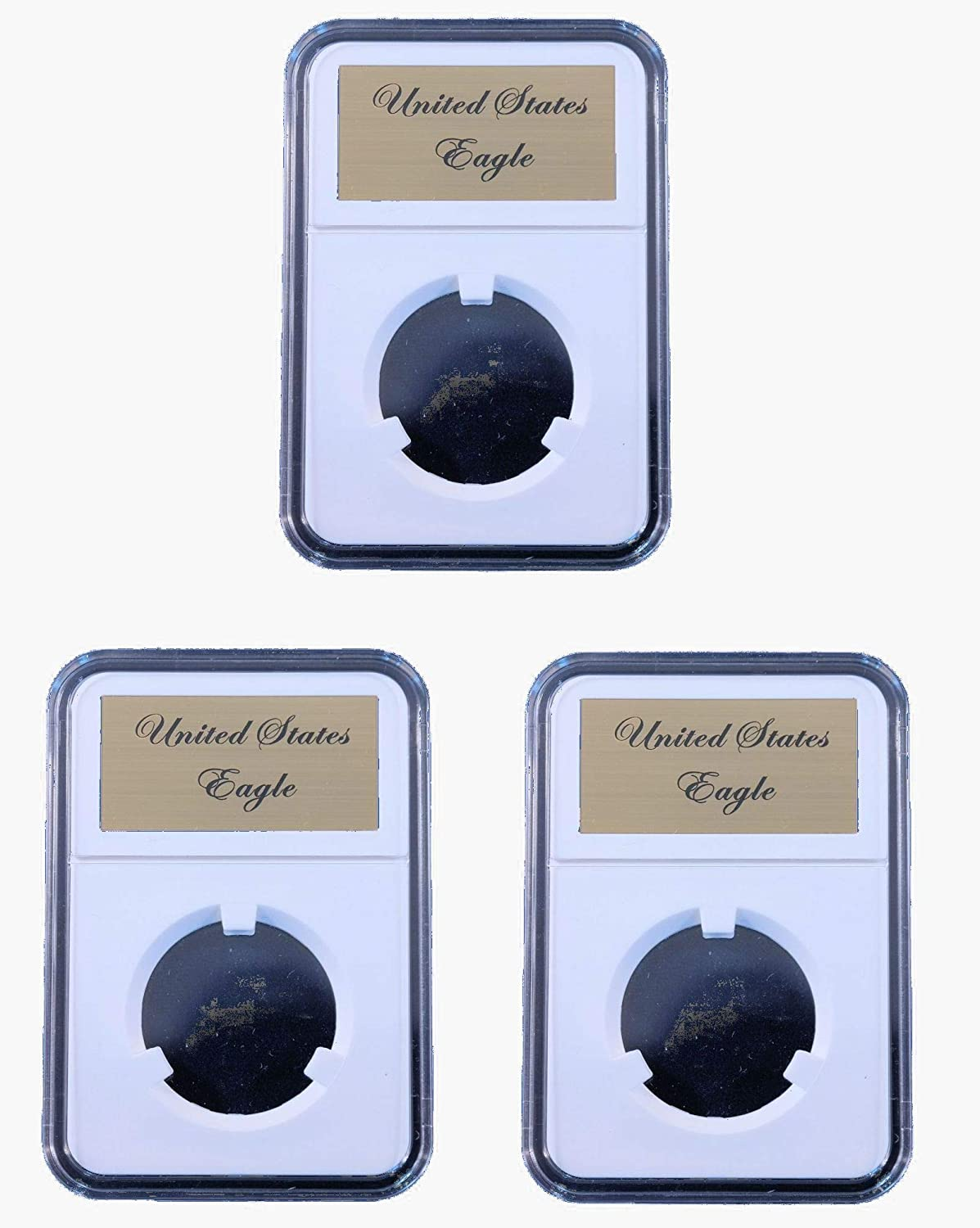 5 Pak Little Bear Elite Certified-Style Coin Holder for American Silver Eagle