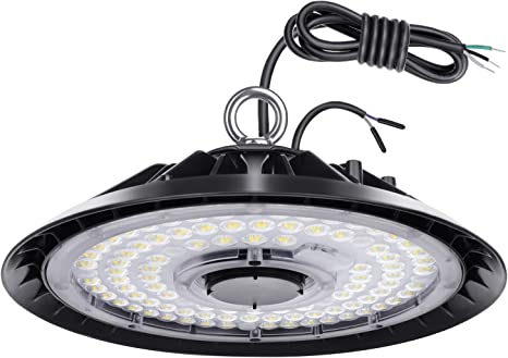 150W LED High Bay Warehouse Light Bright White Fixture Factory 600W Equivalent