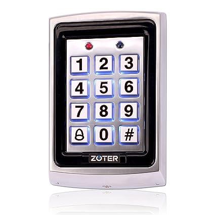 zoter Metal tarjeta de identificación RFID 125 KHz ...