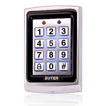 Amazon.com: zoter Metal tarjeta de identificación RFID 125 ...
