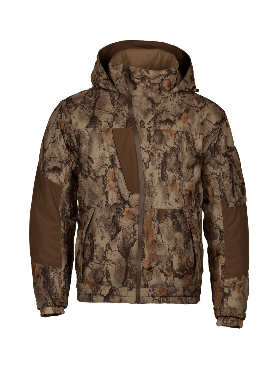 49d4971db2a72 Natural Gear Waterproof Camo Parka for Men and Women, Full-Zip Hunting Parka  Jacket with Hood, Women's and Men's Windproof Hunting Jacket