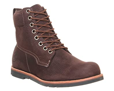 Timberland Boots Rugged Lt 6 Inch Burnished Dark Brown Nubuck