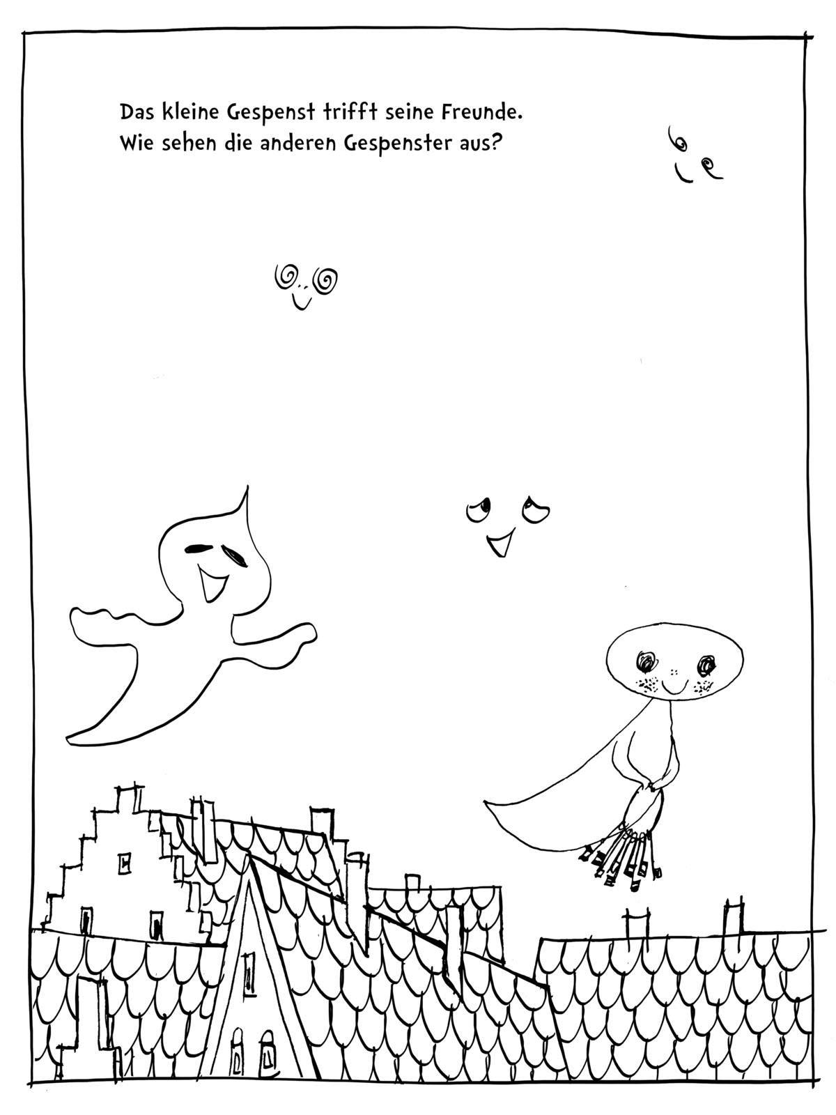 Das Kleine Gespenst Ausmalen Weitermalen Selber Malen Malspass Auf Burg Eulenstein Das Kreative Malbuch Zum Kinderbuch Klassiker Von Otfried Preussler Amazon De Preussler Prof Otfried Weber Mathias Tripp F J Bucher