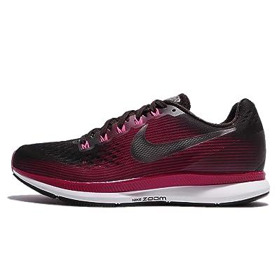 5a4537d86c7 NIKE Women s Air Zoom Pegasus 34 Running Shoe (Gem) Shadow Brown Metallic  Pewter