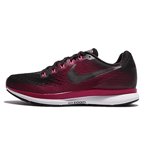 275be579ff48e Nike Women s Air Zoom Pegasus 34 Running Shoe (Gem) Shadow Brown Metallic  Pewter
