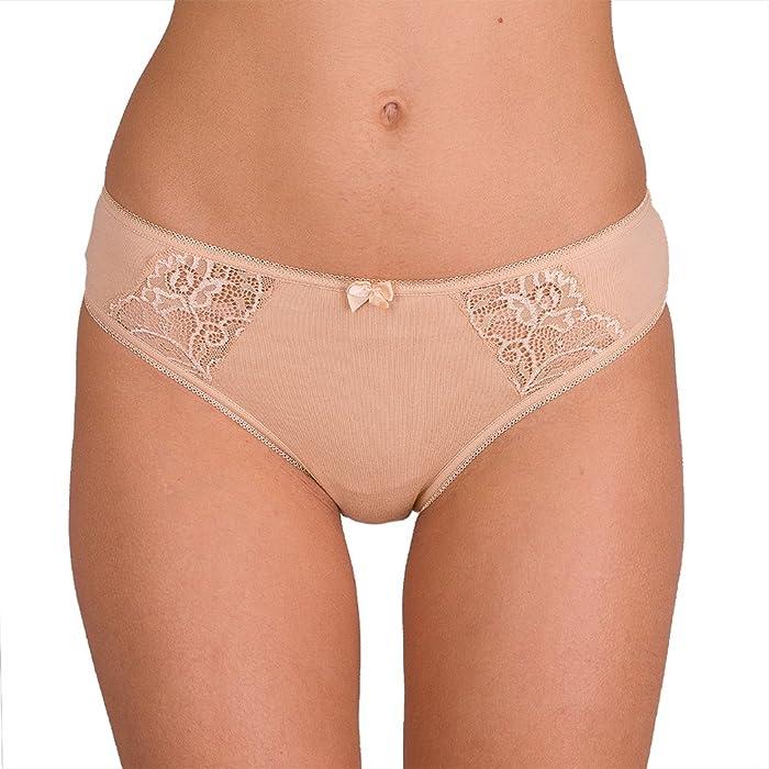 CFB 023 0202 Women's Best Seller Sexy Soft Cotton Lace-Trim ...