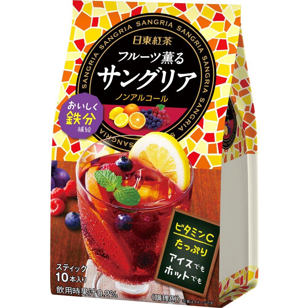 Nitto Tee Obst duftende Sangria-Stick 10 Flaschen X3 St?cke