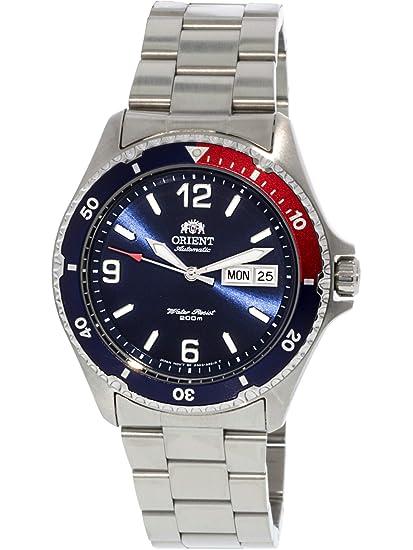 Orient Reloj Analogico para Mujer de Automático con Correa en Acero Inoxidable FAA02009D9: Amazon.es: Relojes