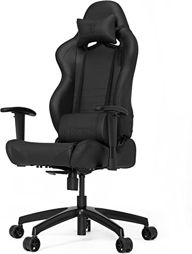 VERTAGEAR S-Line 2000 Gaming Chair, Medium, Black Carbon