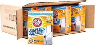 product image for Arm & Hammer Baking Soda, Fridge-N-Freezer Pack, Odor Absorber, 17.6oz Pack, (case of 12)