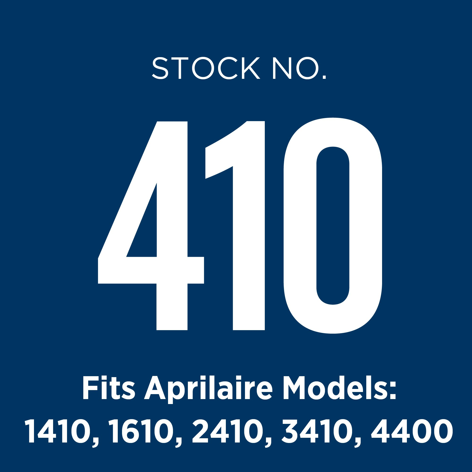 Aprilaire 410 Air Filter 8 Pack for Air Purifier Models 1410, 1610, 2410, 3410, 4400 by Aprilaire (Image #8)