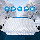Dust Preventative Black /& White Two Sides Car Cover Pickup Yasolote Magnetic Car Windscreen Sedan All Weather Snow Defence Snow Shield Anti-frost Ice Protection Foils Sun Proof for SUV