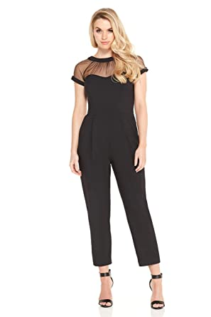 8a74f78e088 Maggy London Illusion Jumpsuit at Amazon Women s Clothing store