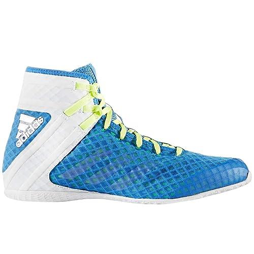 adidas - Zapatillas de Boxeo de Lona para Hombre Azul Azul, Color Azul, Talla 48 2/3 EU: Amazon.es: Zapatos y complementos