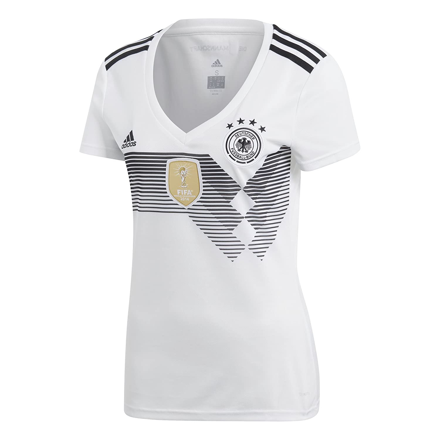 World Cup Soccer Womens adidas 2018 FIFA World Cup Women's Germany Home Jersey
