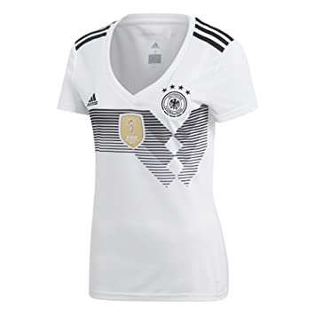 b8a95a24079 adidas 2018 FIFA World Cup Women's Germany Home Jersey, White/Black, ...