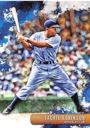 2018 Panini Diamond Kings #28 Jackie Robinson Brooklyn Dodgers Baseball Card