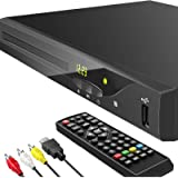 Blu ray DVD Player, 2021 Newest 1080P Home Theater Disc System for TV, Support Region Free DVD, Max 128G USB Flash Drive…