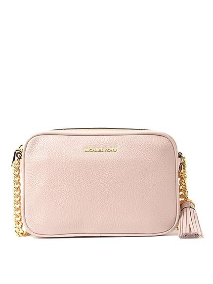 cad7dc62db28db Michael Kors - Ginny Mid Camera Bag, Soft Pink, OS: Amazon.co.uk ...