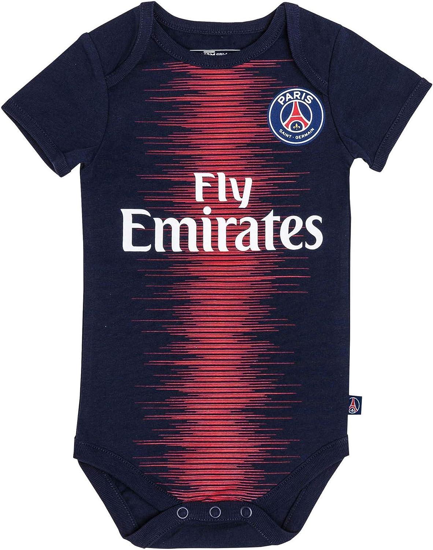 Body + babero de la primera equipación del Paris Saint Germain ...