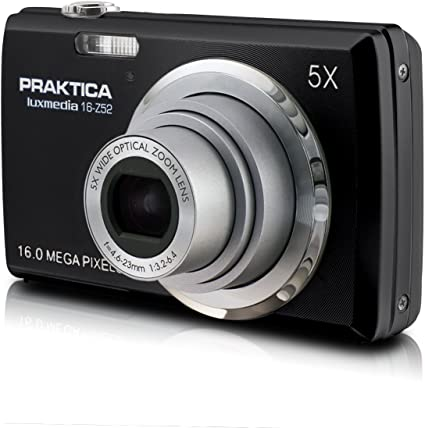 Praktica Luxmedia 16 Z52 Digitalkamera 2 7 Zoll Schwarz Kamera