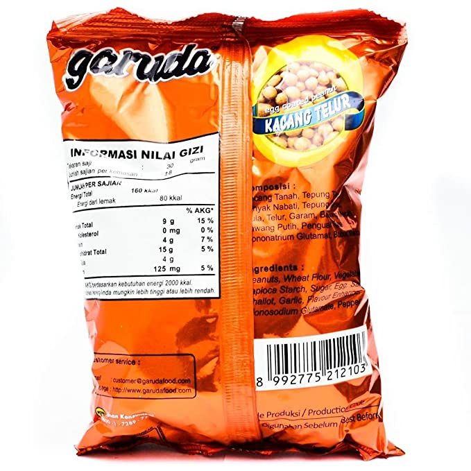 Garuda Kacang Telur 250 Gram Amazoncouk Grocery