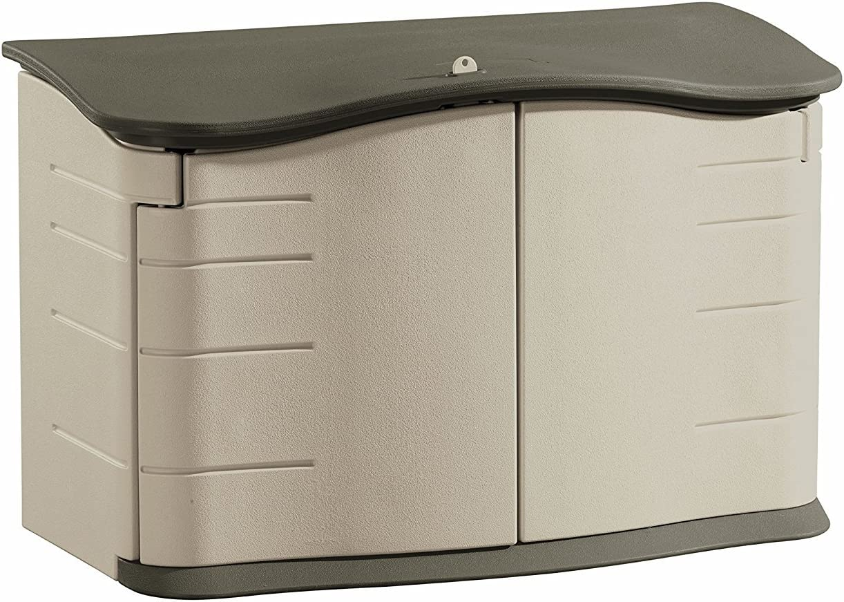 Rubbermaid Horizontal Storage Shed, FG374801OLVSS