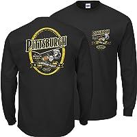 匹兹堡足球迷。 Pittsburgh A Drinking Town with A Championship Problem 黑色 T 恤(S 码-5X 码)