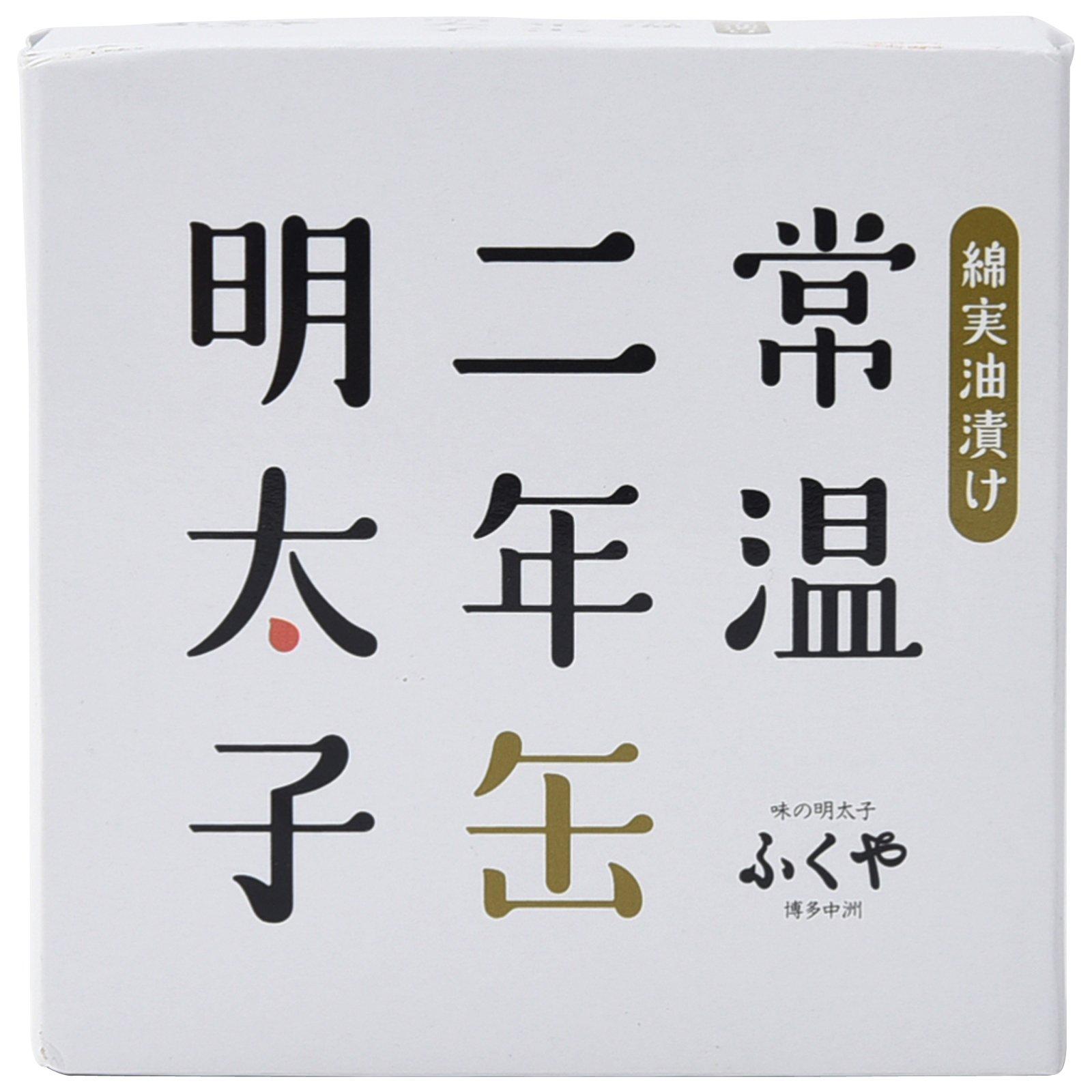 Japanese food mentaiko cod roe canning 85g Fukuya hakata 2 years save