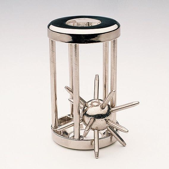 Bits and Pieces Atrapado Puzzle satélite Metal Enigma de Metal con ...