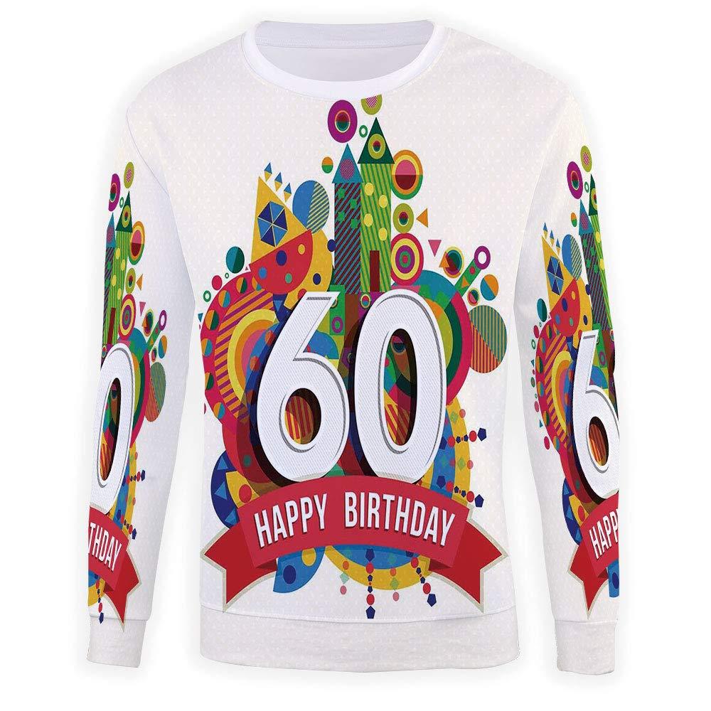 MOOCOM Mens Crewneck 58th Birthday Decorations Sweatshirt