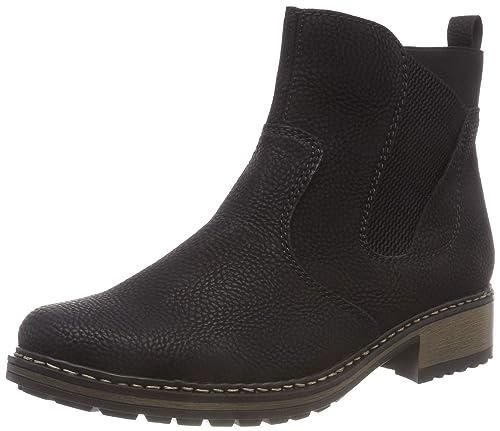 Et Bottes Chaussures Chelsea Sacs Rieker Femme Z6854 zRWv5Xq