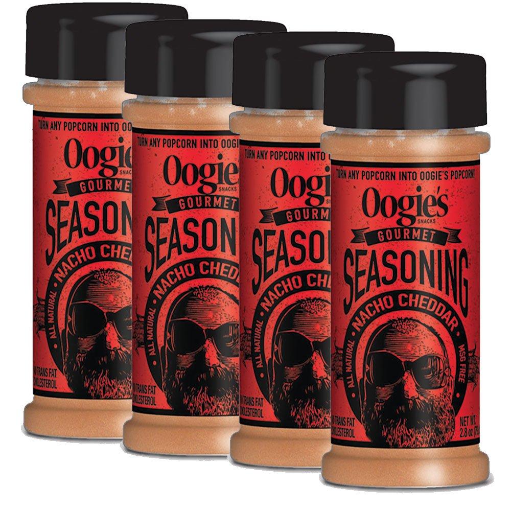 Oogie's Nacho Cheddar Popcorn Seasoning (4-pack)