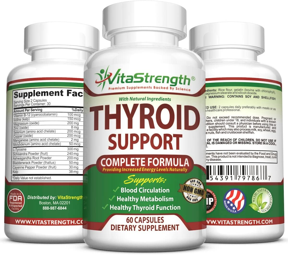 Amazon Com Thyroid Support Complete Formula To Help Weight Loss
